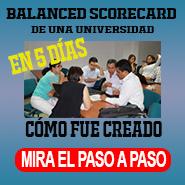 Balanced Scorecard y Plan Estrategico