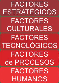 Factores Críticos de Éxito (FCE)