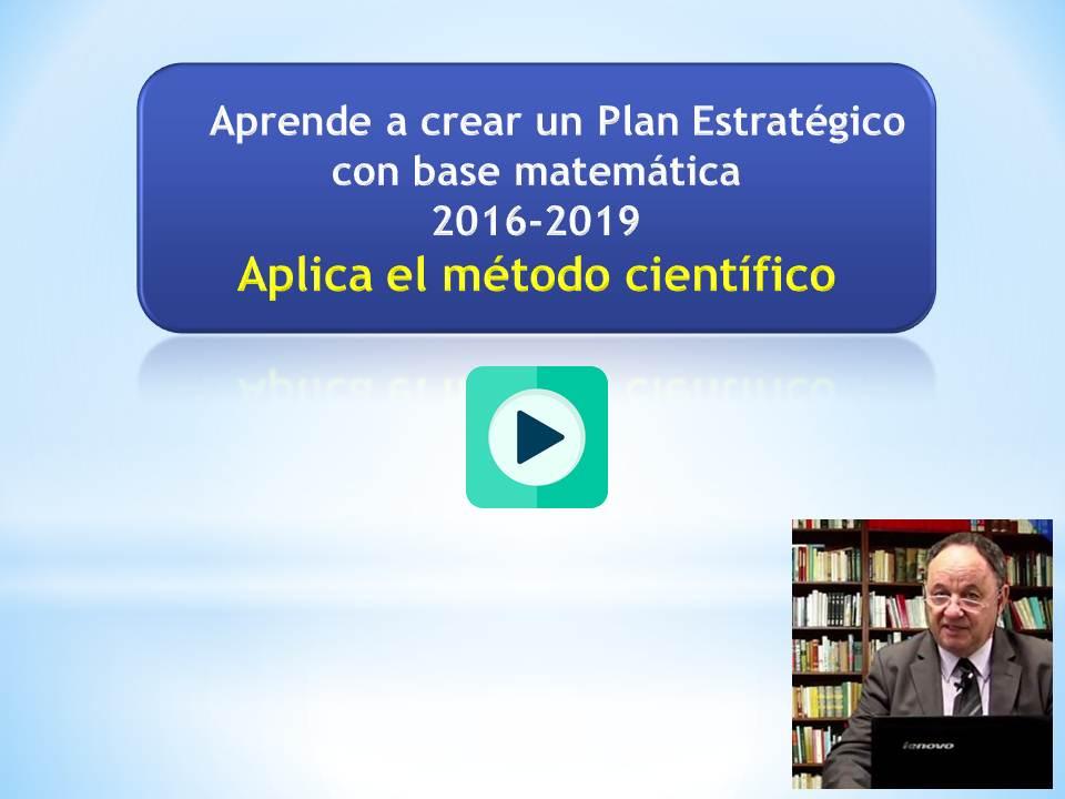 Planeación Estratégica: Video del Prof. Vogel