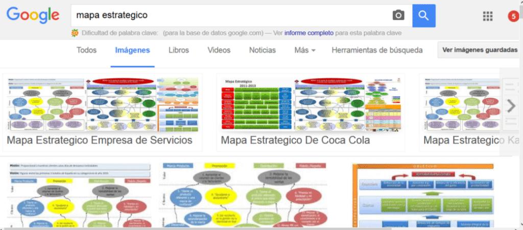 Mapa Estratégico en Google